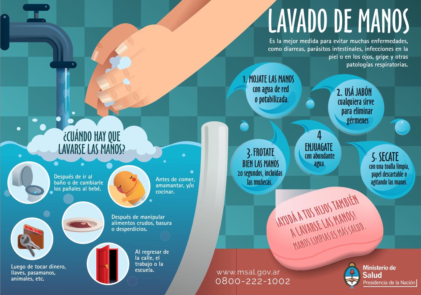 La higiene es fundamental para evitar diarreas de la poca ministerio de salud p blica de tucum n - Alimentos para evitar la diarrea ...
