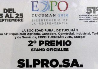 Salud ganó el 2º premio de 'Stand Oficiales' de la Expo 2016