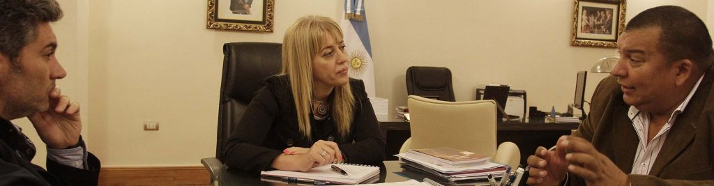 Chahla se reuni con referentes de quilmes y los sueldos for Sueldos del ministerio del interior
