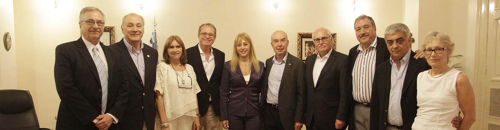 Tucumán estrecha lazos sobre ortopedia y traumatología con Alemania