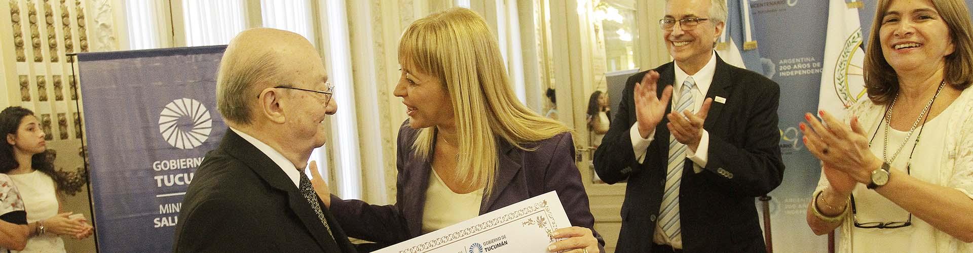 Referentes de la medicina tucumana fueron reconocidos por el Ministerio de Salud de la provincia