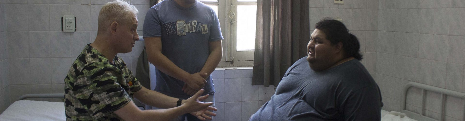 Trasladaron de Lules al Padilla a un paciente con obesidad mórbida para su tratamiento