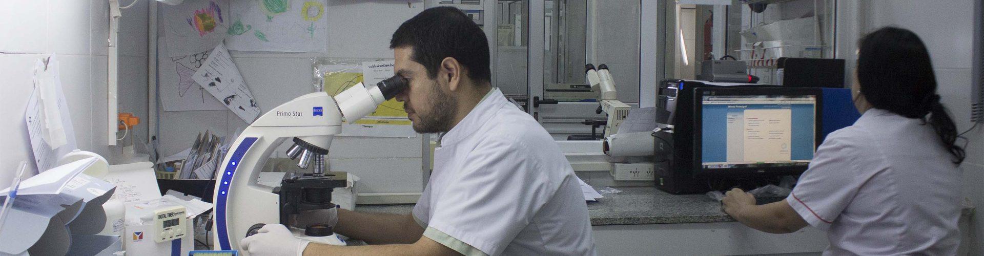 El Hospital Avellaneda cuenta con un Laboratorio Bioquímico de alta complejidad