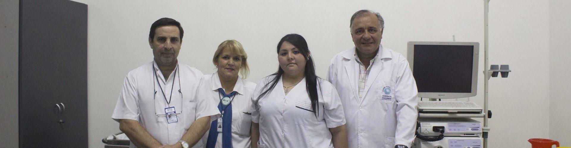 La Unidad de Gastroenterología realiza más de 140 estudios por mes