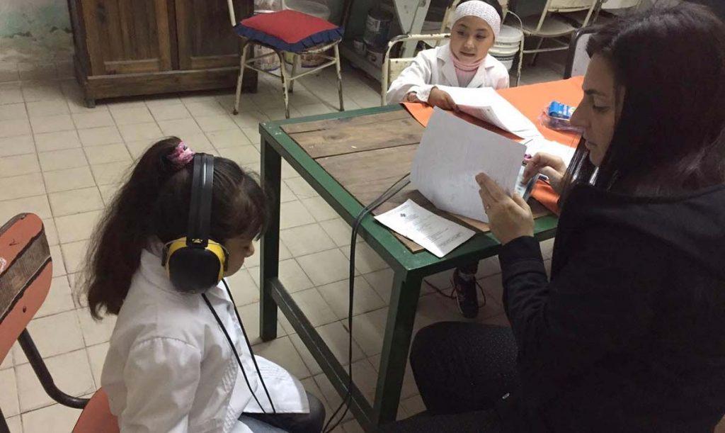 Operativo de Salud en Alberdi