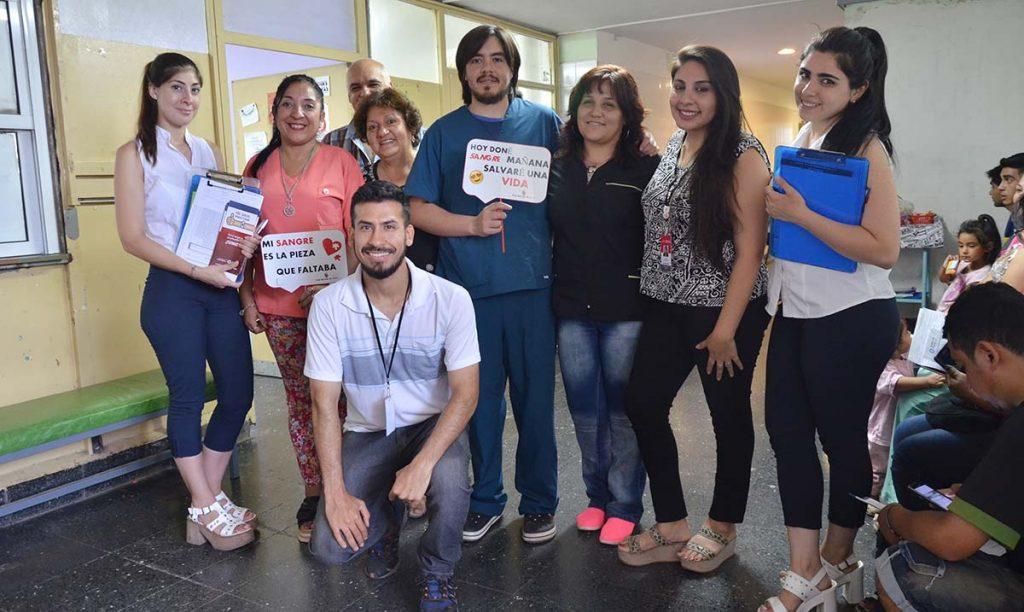 Colecta y registro de donantes de médula ósea en el hospital del Niño Jesús