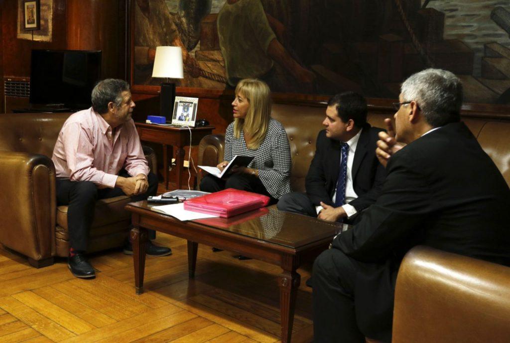 La doctora Chahla se reunió con el ministro de Salud de la Nación
