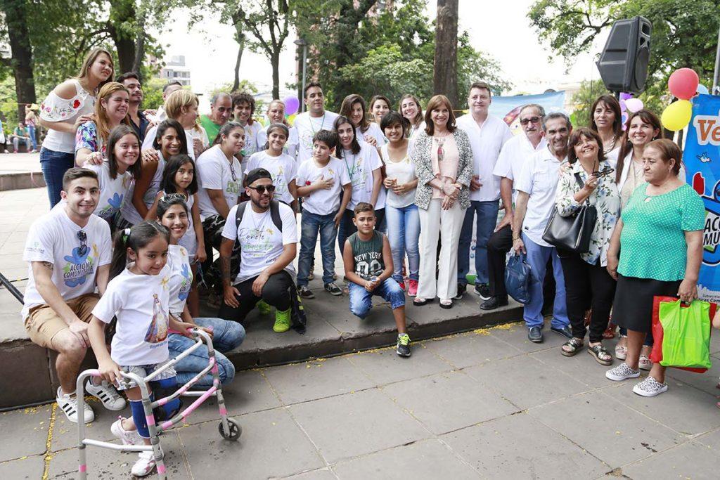 Conmemoraron el Día Mundial de la lucha contra el Cáncer Infantil con una colecta