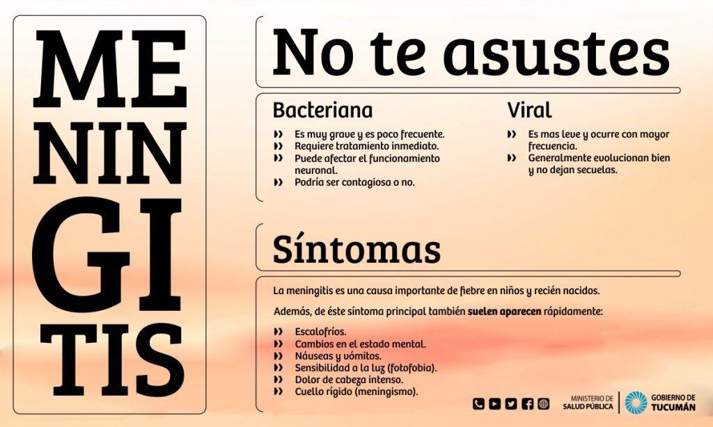 La meningitis es una enfermedad muy seria, mortal o que deja secuelas,  particularmente si la producen bacterias. Las bacterias que en los niños  lideran las ...