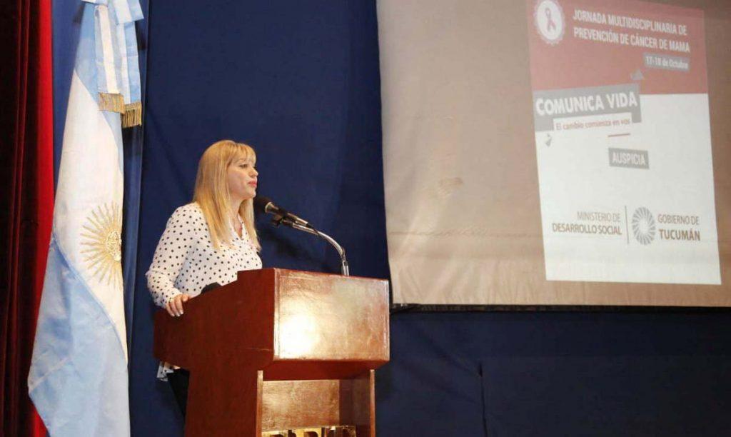 La Ministra participó de la apertura de la Doble Jornada 'Comunicá vida: el cambio comienza en vos'