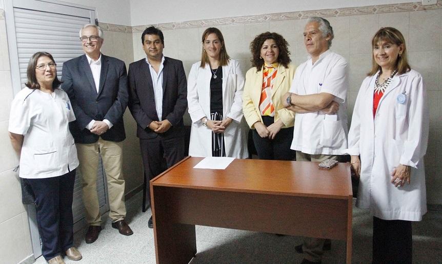 Vigliocco acompañó la asunción de nuevos directivos en el hospital de La Cocha