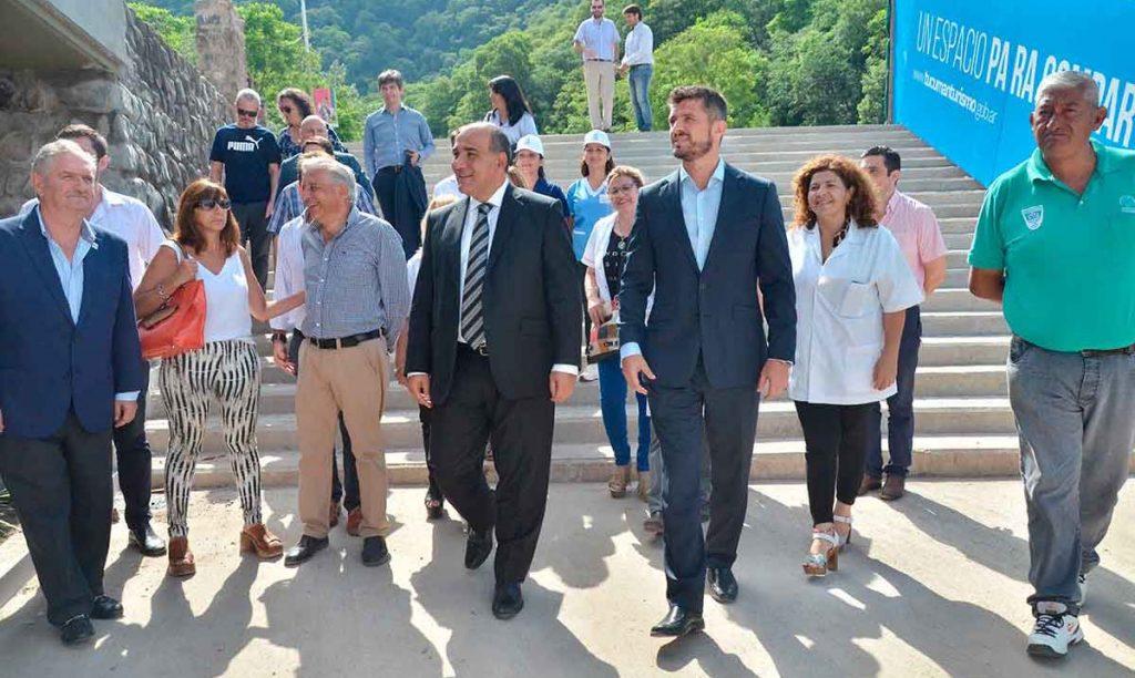 El gobernador supervisó los avances de obra del Complejo Puerto Argentino
