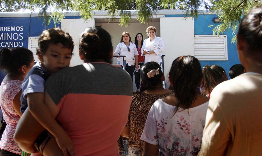Realizaron un operativo de salud en el barrio San Martín de Porres
