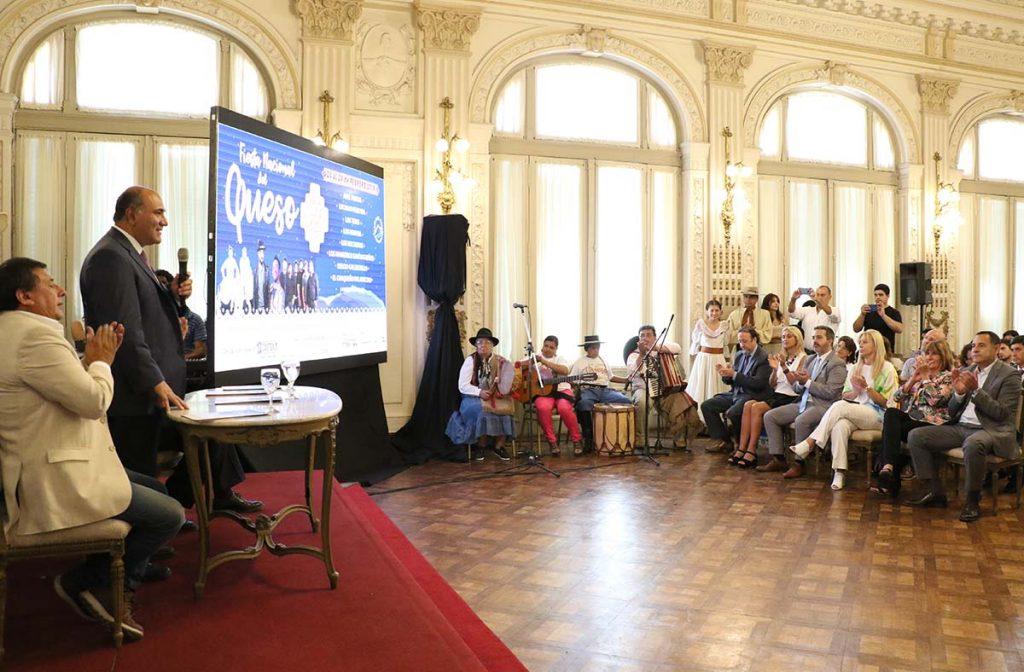 La ministra de Salud participó de la presentación de la Fiesta Nacional del Queso