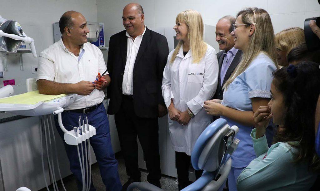 Quedó oficialmente inaugurado en consultorio odontológico del CAPS Arcadia