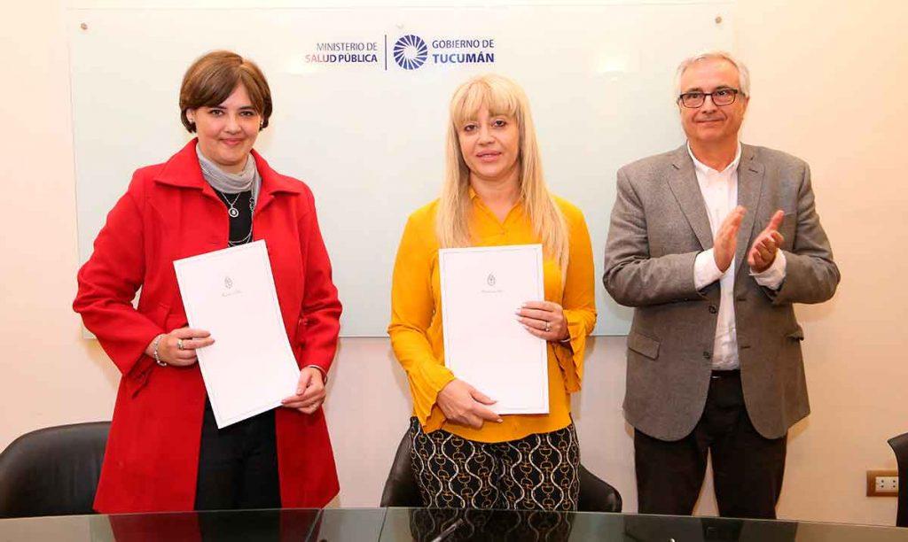 Salud y la Fundación Gavina formalizan acciones conjuntas para el tratamiento de Fisuras Naso-Alvéolo-Palatinas