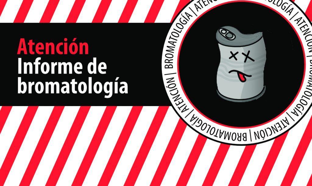 Bromatología alerta sobre productos no aptos para consumo