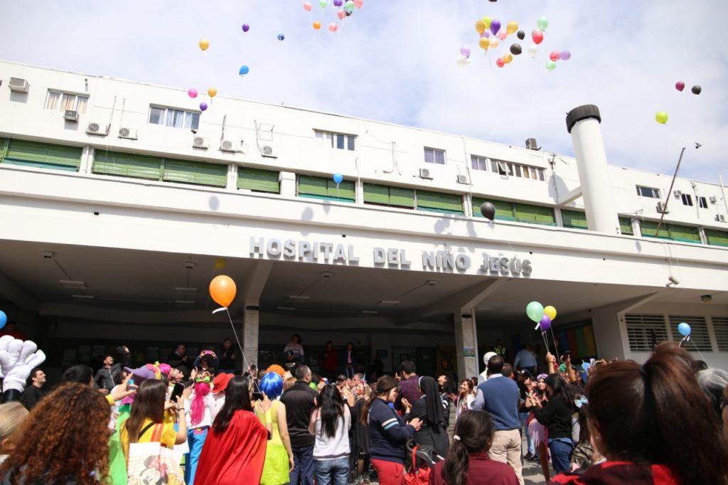 Una gran fiesta organizada por el Ministerio de Salud dibujó una sonrisa en los chicos