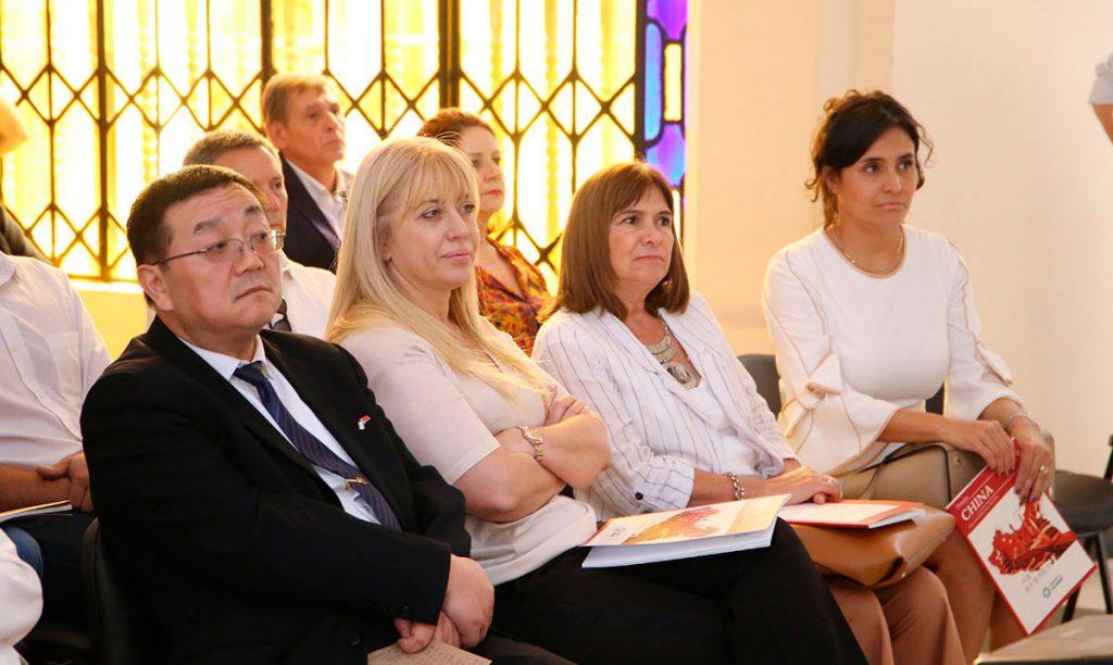 La ministra Chahla participó de la presentación del Dossier sobre China y las oportunidades para Tucumán