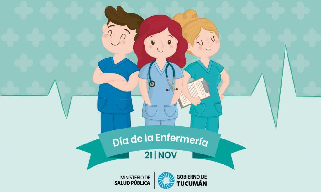 El Ministerio de Salud Pública saluda a todos los enfermeros argentinos en su día