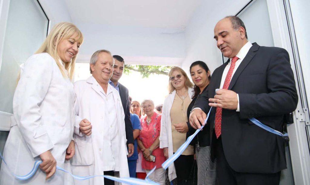 El gobernador y la ministra inauguraron la remodelación del CAPS Benjamín Matienzo