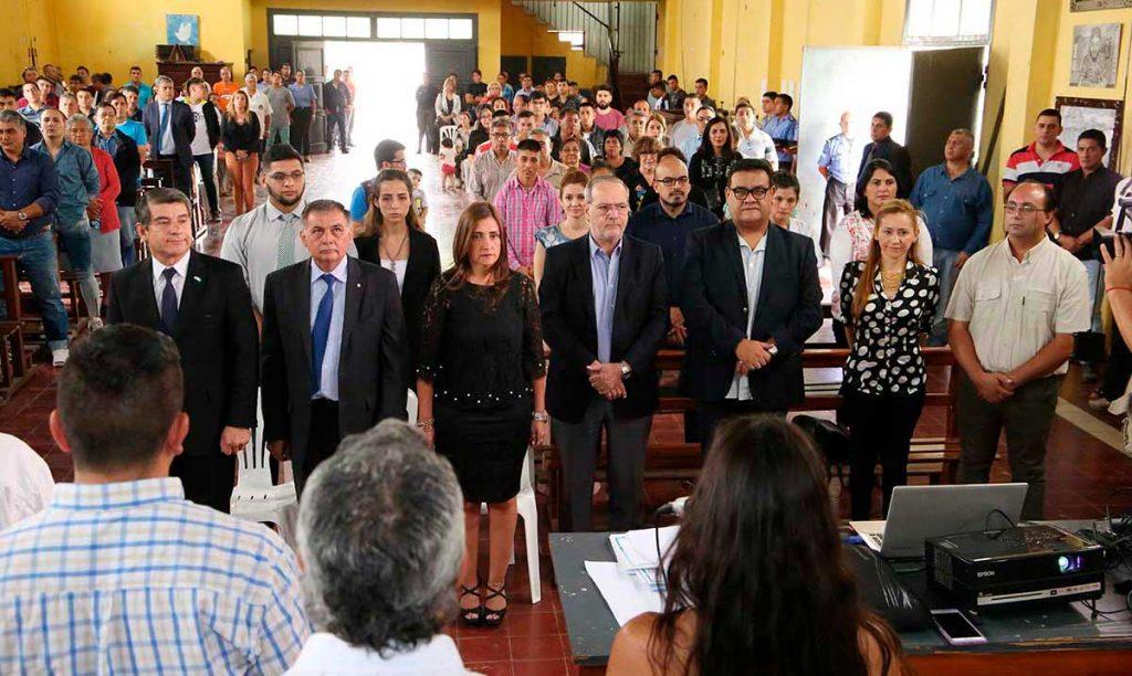El Penal de Villa Urquiza fue escenario de la colación de 60 egresados 'Promotores de Salud'