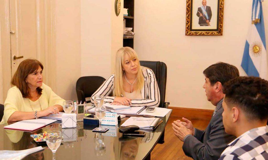 La ministra de Salud Pública mantuvo una reunión con el intendente de Alderetes