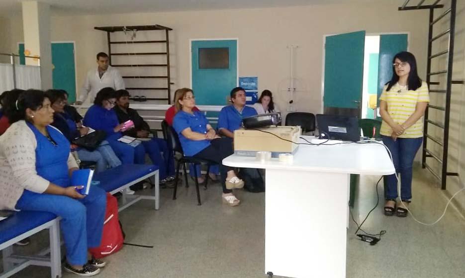 Agentes sanitarios se capacitaron para detectar precozmente casos de tuberculosis