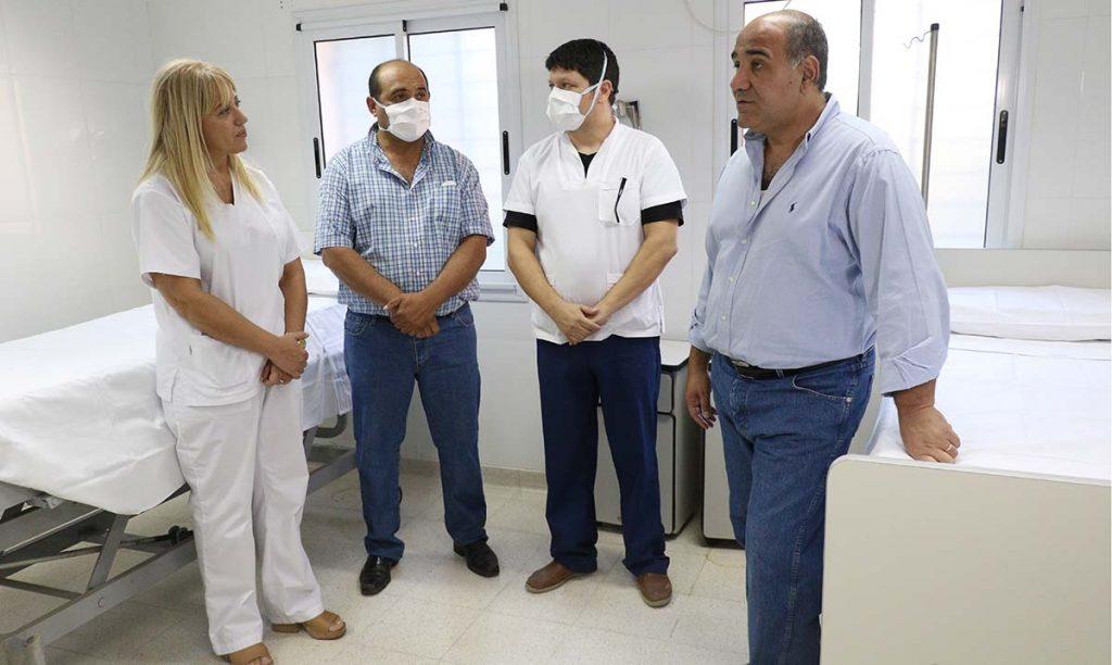 El hospital de Trancas se apresta para dar respuesta a posibles casos de coronavirus