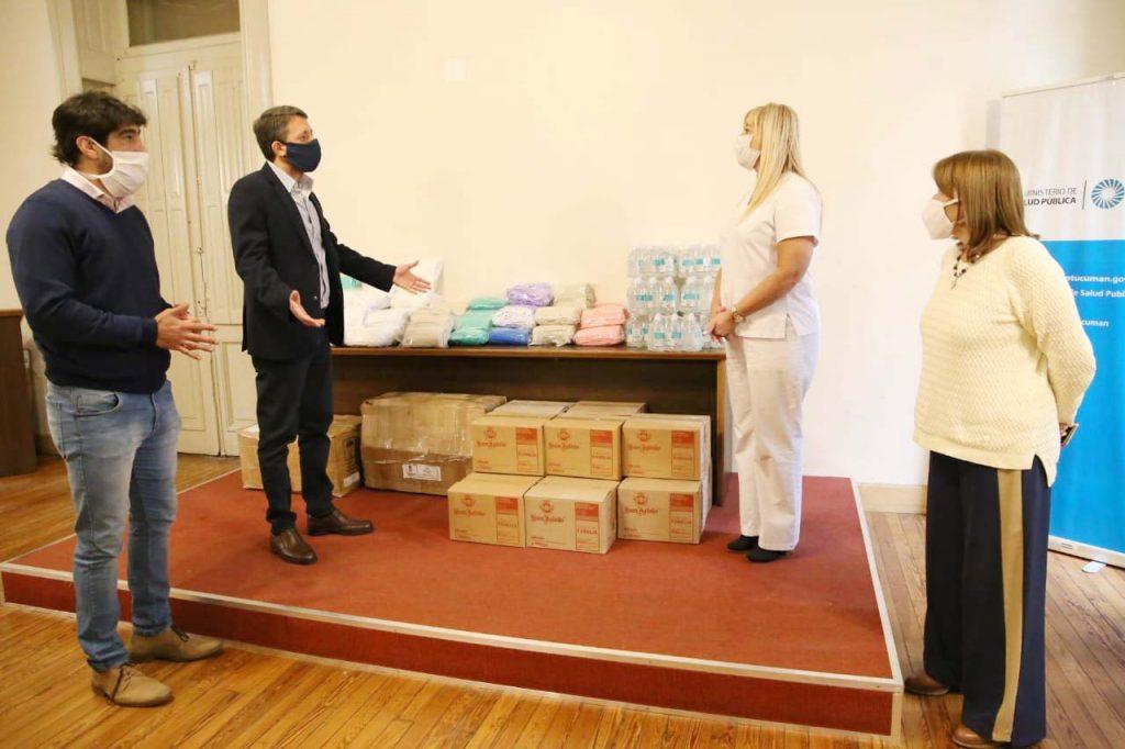 Importante donación del IPACyM a Salud