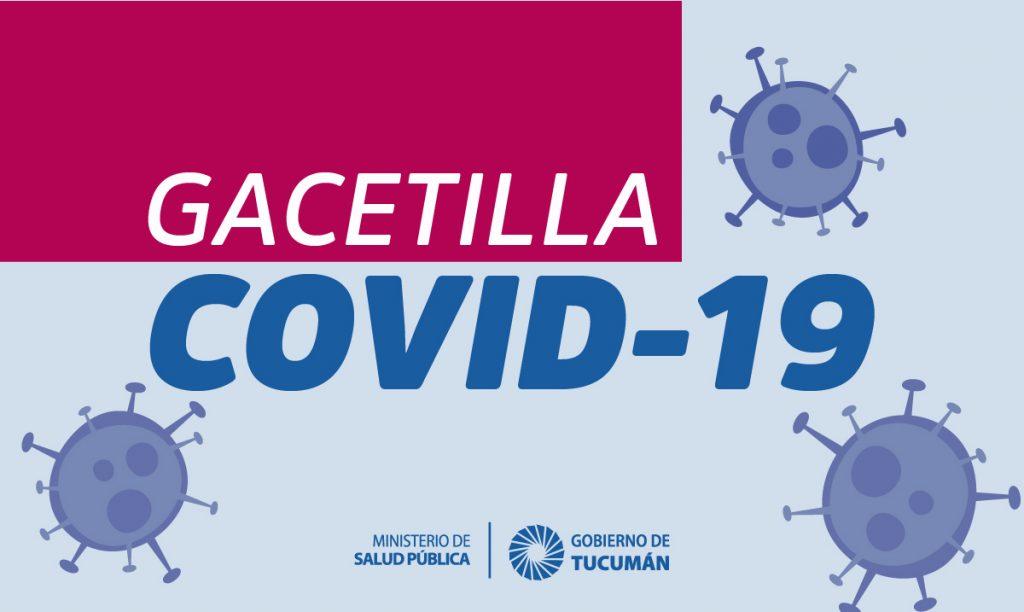 Situación COVID-19 en Tucumán – Ministerio de Salud Pública de Tucumán