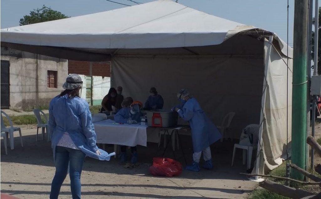 Vecinos del barrio Castillo fueron controlados por el BAS – Ministerio de Salud Pública de Tucumán