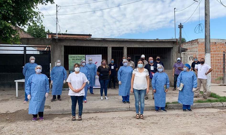 'Viernes para vencer al vector', en barrio Ejército Argentino