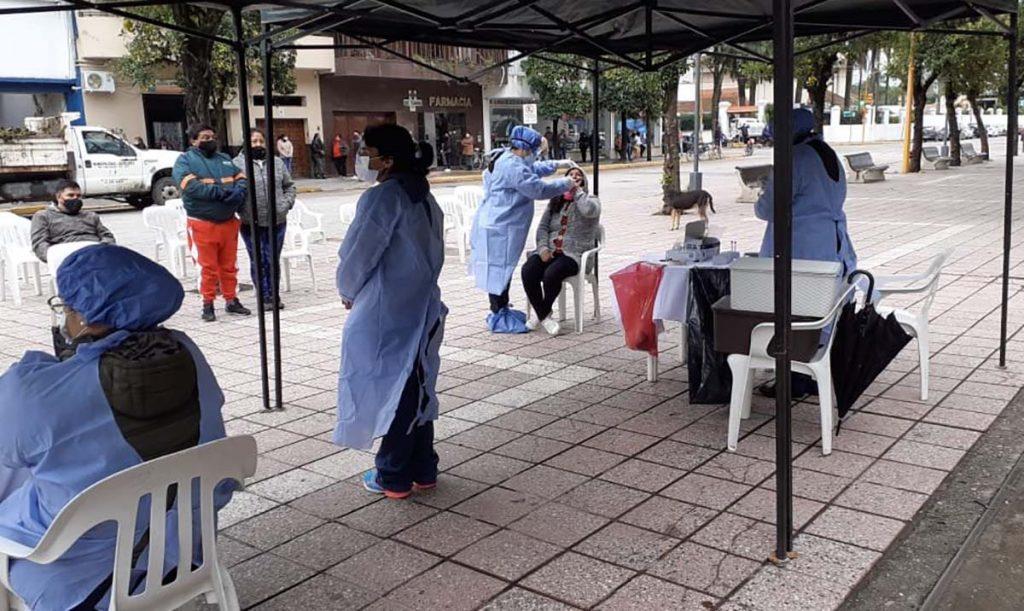 El BAS continúa controlando sintomáticos en Tucumán