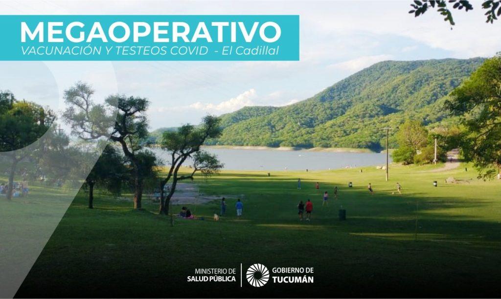 Mega operativo de vacunación y testeos contra el Covid-19
