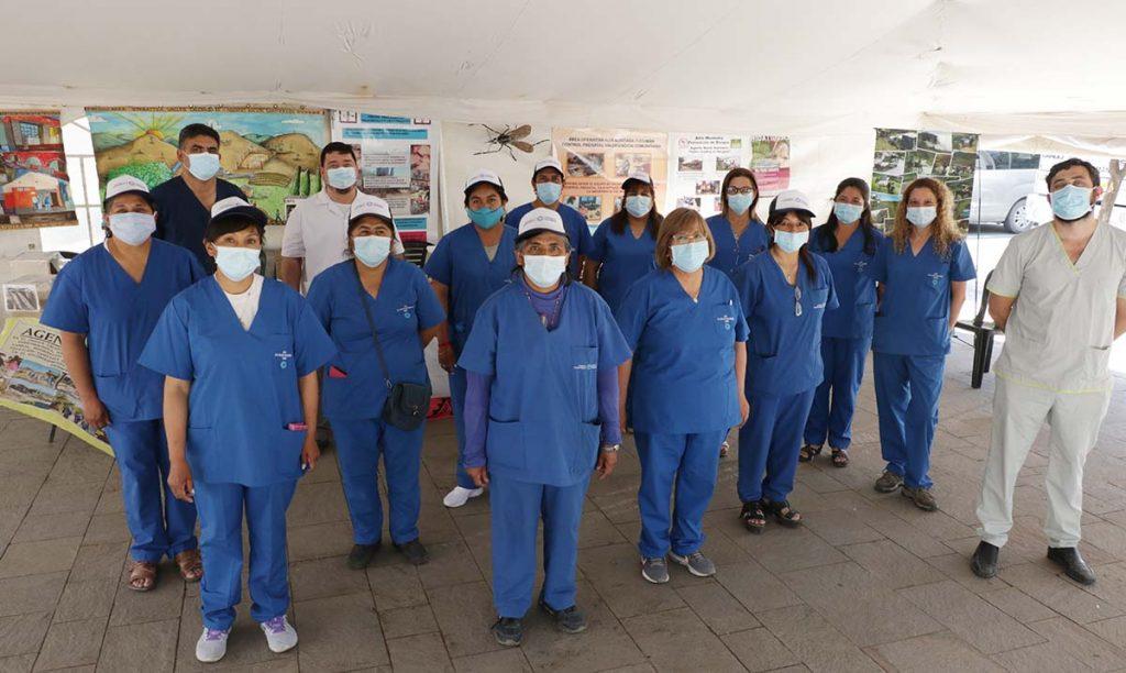 Área Operativa Alta Montaña: Presente en las carpas del Operativo Sanitario en Plaza Independencia