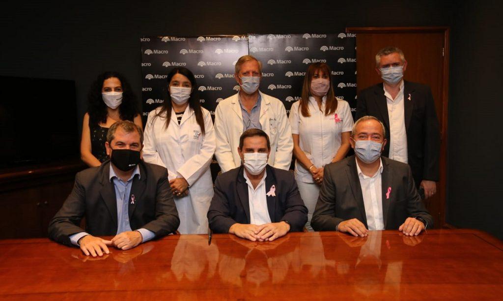 El Banco Macro realizó una importante donación para pacientes oncológicos del Sistema Provincial de Salud